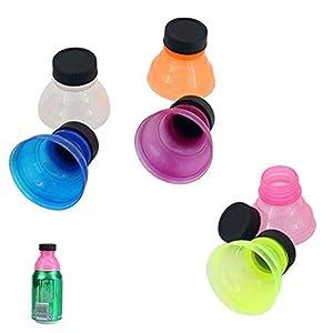 6 Piezas Tapas a presión para botellas de refrescos, Tapones de la Botella de la Poder de Soda del estallido, Reutilizables Mantiene a Los Insectos Fuera Para Una Experiencia de Consumo Más Fresca