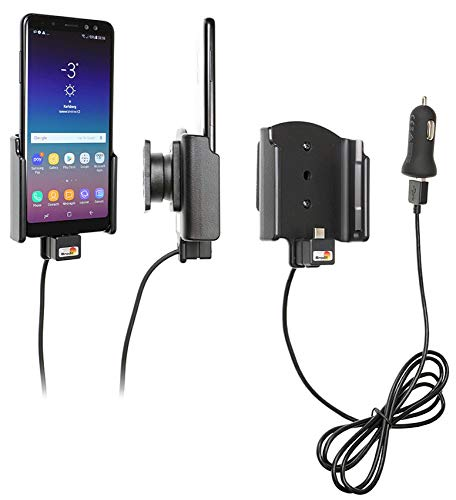 Brodit 721035 Support Voiture avec Adaptateur Allume-Cigare et Cable USB pour Huawei Mate 10 Pro avec ou sans étui, Set de 8