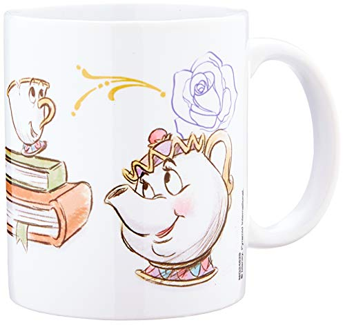 Pyramid International Beauty and the Beast (Chip Enchanted) - Taza de cerámica...