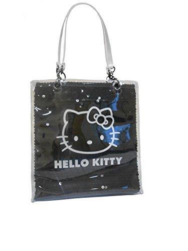 Bonjour Kitty Noir & Blanc Petit Sac à Main Brillant Sequinned