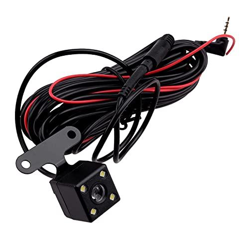 NONGFU Wangtao Store Universal 4 Pin Coche LED 2.5mm Jack Accesorios para automóviles Vista Trasera inversa Copia de Seguridad Aparcamiento Cámara de accionamiento