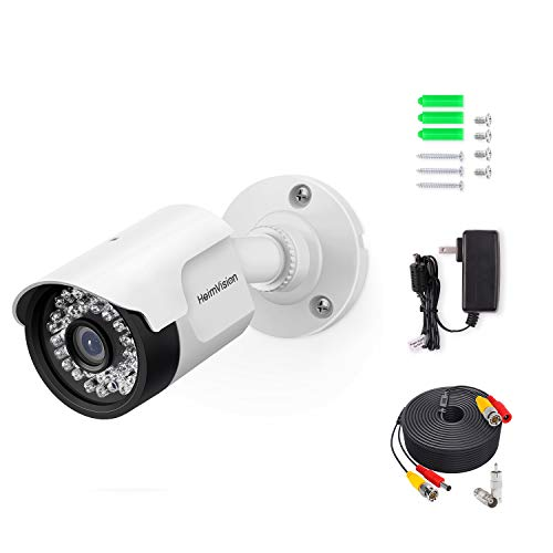 HeimVision 1080P Security Camera (Adapter& Cable Included) with Night Vision, Motion Detection, IP66...