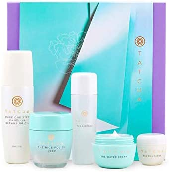 Tatcha The Starter Ritual Set Balancing for Normal to Oily Skin Includes Pure One Step Camellia product image
