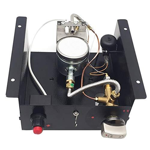 Meter Star Gas Heizung Kit Ersatz, Propan Gas Glas Rohr Heizung Steuerkasten Ansaugluft 10mm Außenheizung Controller Heizung Herd Heizung Montage Kit