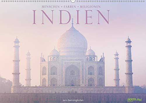 Indien: Menschen • Farben • Religionen (Wandkalender 2021 DIN A2 quer)