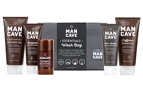 Mancave Essentials Wash Bag Set