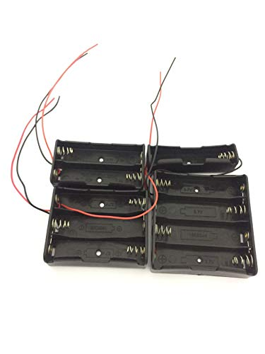 con la línea 18650, Caja de baterías, Caja de baterías de Litio, Base de Carga de la Serie 18650, Soporte 1/2/3/4 Cada uno 1