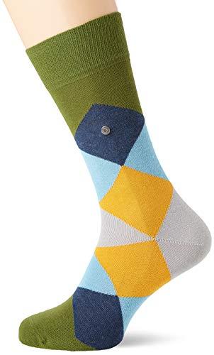 BURLINGTON Herren Socken Clyde, Baumwollmischung, 1 Paar, Grün (Laurel 7682), Größe: 40-46