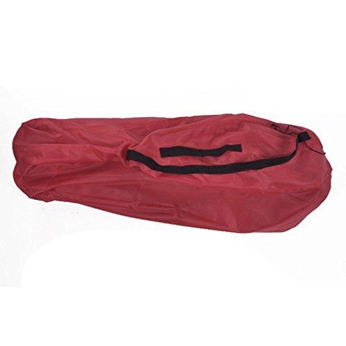 perfeclan Bolso de La Protección de Carry Recorrido Transporte Cochecito de Bebé Bolsas para Carrito Silleta - Rojo b