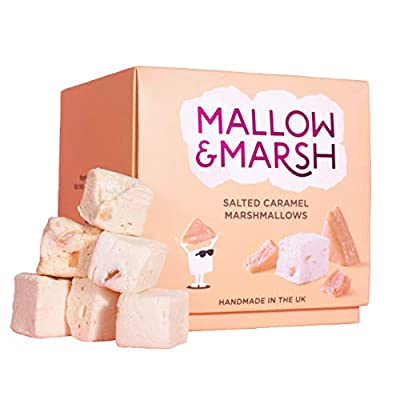 mallow & marsh salted caramel marshmallow luxury gift box – 169g – perfect for sharing and gifts Mallow & Marsh Salted Caramel Marshmallow Luxury Gift Box – 169g – Perfect for Sharing and Gifts 41We054BhjL