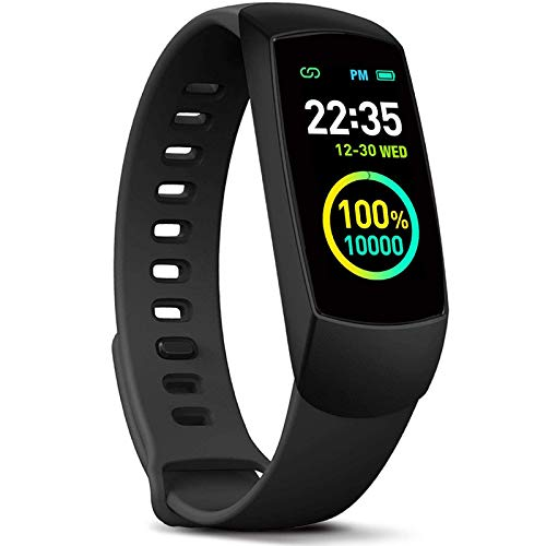 MorePro Slim Kids Fitness Tracker with Heart Rate Monitor, O2/HRV Activity Tracker with Waterproof Pedometer, Smart Watch Sleep Monitor, Step & Calorie Counter for Women Men