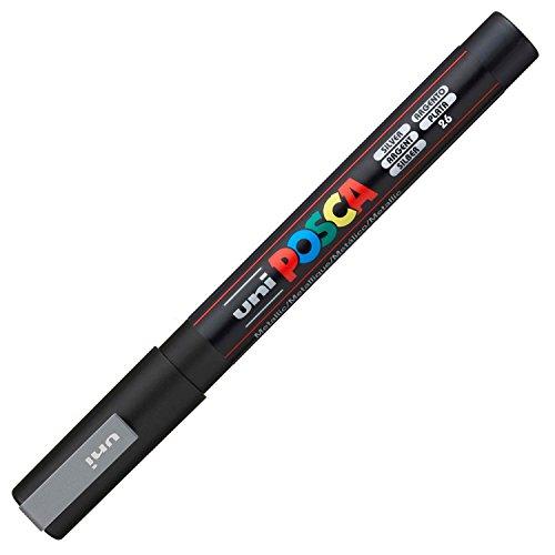 Uniball 156737000, Marcatore, colore Argento, 1 pezzo