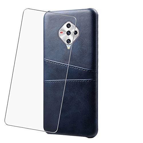 JIENI para Nokia 5.4 (6.5 Pulgadas) Cubierta Exterior, Cubierta Exterior de Silicona Suave TPU, para Samsung Nokia 5.4 Cubierta Protectora a Prueba de Golpes, Funda de teléfono enchufable -Blue