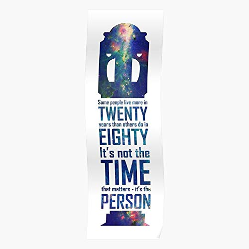 Screwdriver Show Tv Doctor Who A Upon Time Quote Dr Space Once Sonic Tenth Regalo para la decoración del hogar Wall Art Print Poster 11.7 x 16.5 inch