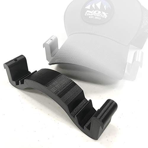 Hat Bill Bender - 3D Printed - Baseball Cap Brim Curver Shaper Black