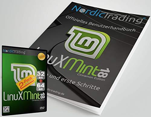 Linux Mint 18 Cinnamon 32+64bit (2 DVDs!) incl. gedrucktem Handbuch