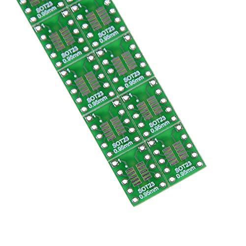 ZHOUCHENPQ 10 STÜCKE SOT23-3 MSOP-10 UMAX an DIP10 SOT23-5 SOT23-6 Adapterbrett