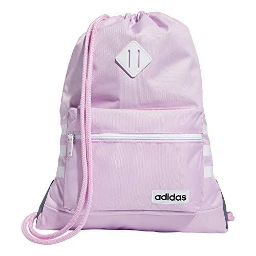 adidas Mochila unisex Classic 3S, Unisex adulto, Bolsa de mochila, 976595, Clear Lila/White, talla única