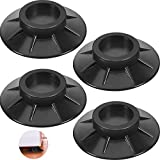 4 Pieces Anti Vibration Washing Machine Pads Shock and Noise Cancelling Washing Machine Support Anti Slip Rubber Washing Machine Feet Pads Washing Machine Stabilizerfor Dryer and Washer Pedestals
