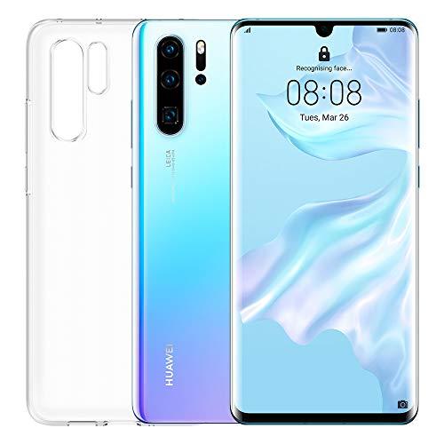 "Huawei P30 Pro (Crystal Ademhaling) plus transparante hoes, 8GB RAM, 128 GB-geheugen, 6.47 Display ""FHD +, Quadruple achteruitrijcamera voor geavanceerde Bokeh-effecten, frontcamera 32 Mpx HDR +"