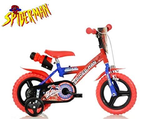 Cicli Puzone Bici 12 Spiderman Dino Bikes 123 GLN-SA