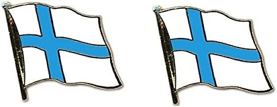 Yantec Flaggenpin Finnland Pin Flagge