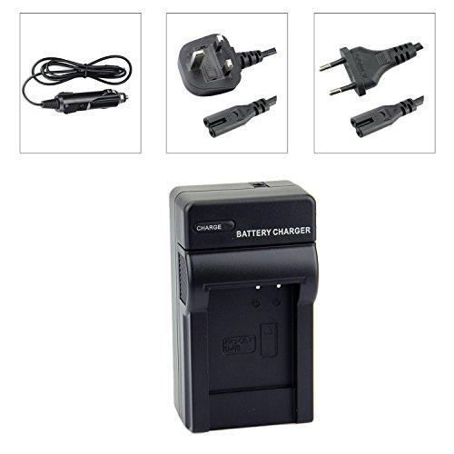 DSTE EN-EL12 Travel Charger Kit for Nikon Coolpix P310 P330 P340 S31 S70 S610 S620 S630 S640 S6000 S6100 S6150 S6200 S6300 S8000 S8100 S8200 S9050 S9100 S9200 S9300 S9400 S9500 S9600 Camera as MH-65