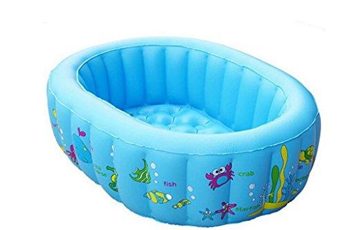 Piscine pour enfants Enfant Bleu Baignoire gonflable Bébé gonflable Piscine plus épais Garder une piscine chaude Piscine balnéaire pliable Pool Rembourrage Piscine Aire de jeux aquatique Accueil