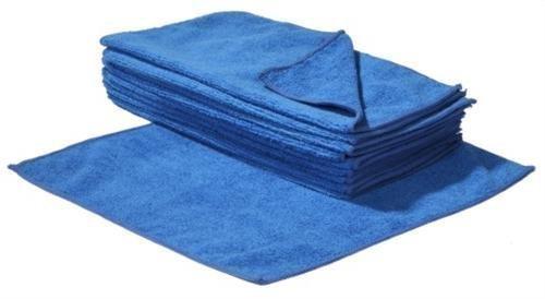 SBS Mikrofasertücher 40 x 40 cm | 100 Stück | blau | Microfasertuch Mikrofaser Tuch Microfasertücher