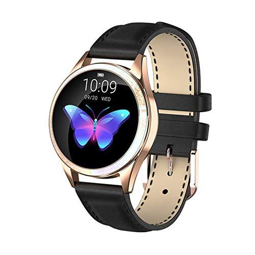 QNMB KW20 Smart Watch Damen IP68 wasserdichte Uhr Herzfrequenz Überwachung Bluetooth Sport Fitness Armband,B
