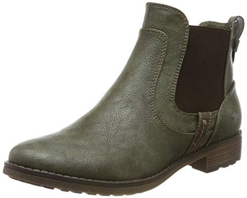 MUSTANG Damen 1265-501-77 Chelsea Boots, Grün (Oliv 77), 40 EU