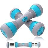 MEckily Juego de mancuernas ajustables, ergonómicas, con goma antideslizante, para hombre y mujer, para entrenamiento de fuerza, fitness, entrenamiento muscular