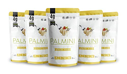 Palmini Low Carb Angel Hair   4g of Carbs   As Seen On Shark Tank (12 Ounce - Pack of 6)