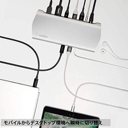 belkin『USB-CExpressDock3.1HD(F4U093JA)』
