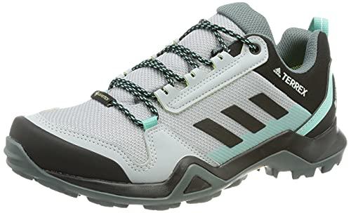adidas Damen Terrex AX3 GTX W Trekking-& Wanderhalbschuhe, PLAHAL/NEGBÁS/MENACI, 41 1/3 EU