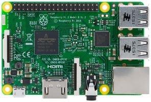 Raspberry Pi 3 Model B Quad Core CPU 1.2 GHz 1 GB RAM Motherboard