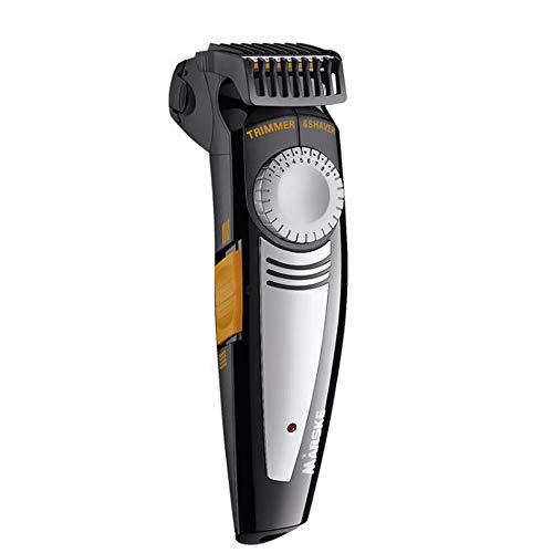 WeeLion Rasoir électrique 2-en-1 Homme, 9 Positions réglables/Smart Anti-pincement/Alternatif/Rasoir + Tondeuse à Cheveux.