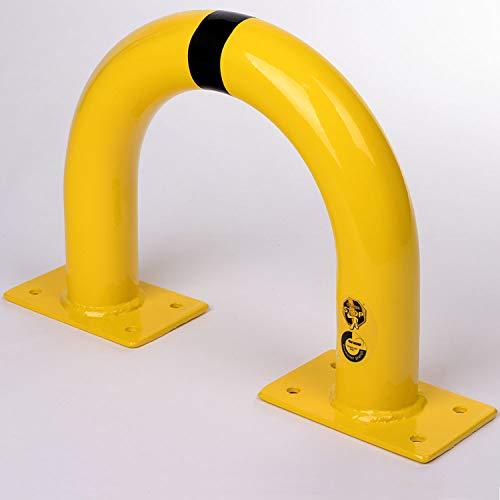Bolardo de protección de seguridad Altura 350 mm x longitud 375 mm