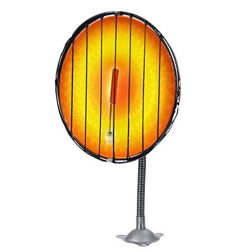 KTZAJO Descongelador de calentador de coche, 12 V, 150 W, 24 V, 200 W, calentador refulgente, calentador portátil para coche (color: 200 W, tamaño: 24 V) (color: 150 W, tamaño: 24 V)
