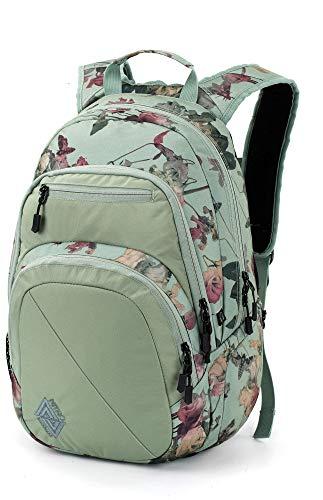 Nitro Stash Rucksack, Schulrucksack, Schoolbag, Daypack, Dead Flower, 49 x 32 x 22 cm, 29 L,