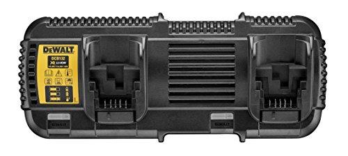 Dewalt DCB132-QW DCB132-QW-Cargador Doble XR FLEXVOLT: 54V-18V-14,4V-10,8V, 108 W, 52 V