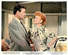 Forever Darling Original Lobby Card Lucille Ball James Mason 1956 Color