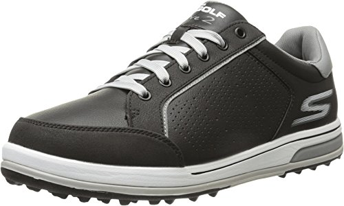 Skechers Men's Go Golf Drive 2 Golf Shoe,Black/White,11 M US