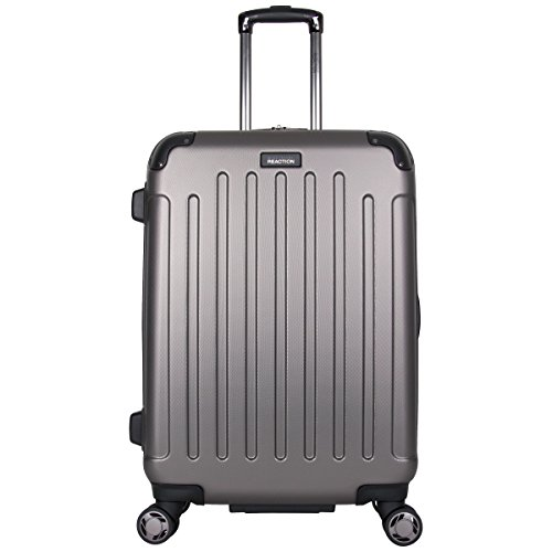 Kenneth Cole Reaction Renegade 24' ABS Expandable 8-Wheel Upright, Silver, inch Checked