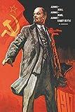 Pyramid America Lenin Propaganda Poster Kunstdruck