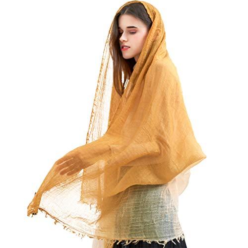 Sjaal van zeer dunne wol met lange lente en winter, avondsjaal voor dames voor bruiloft, cadeauzakje