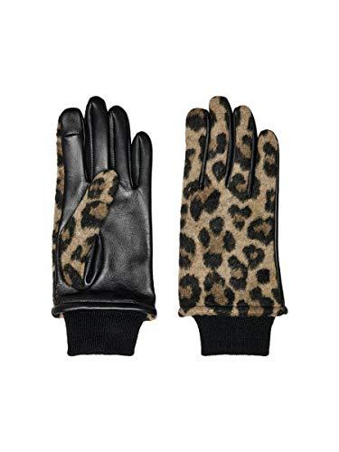 ONLY female Handschuhe Leder M/LBlack 1