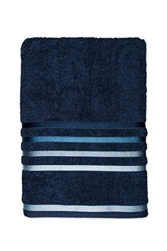 Toalha de Banho Lumina 331/1, Karsten, 98% Algodão 2% Poliéster, Azul Marinho