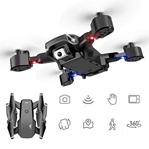 MJS Altura Plegable Hold Drone 1080P HD Cámara DRON 4K Cámara Dual DRON Control Remoto no tripulado Vehículo aéreo no tripulado Juguete Quadcopter (Color : White 720P Camera)