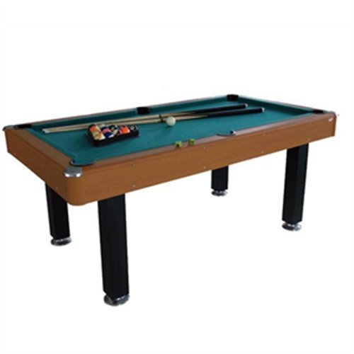 Jim Sport Technology Clasico - Mesa de Billar Americano de Juegos de salón y de Aperitivo Unisex, Talla única, Color marrón
